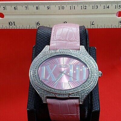Pink 1.5 carat Fine Jewelry Diamond Watches . Real Genuine diamonds. Swiss SALE