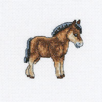 Cross Stitch Mini Kit   Rto Dutch Horse  H255