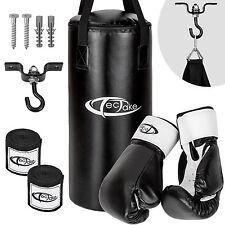 Ensemble sac de boxe sac de frappe équipement gants bandages sport support