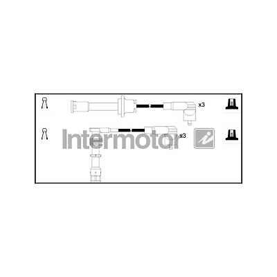 Genuine Intermotor Ignition Cable Kit - 73881