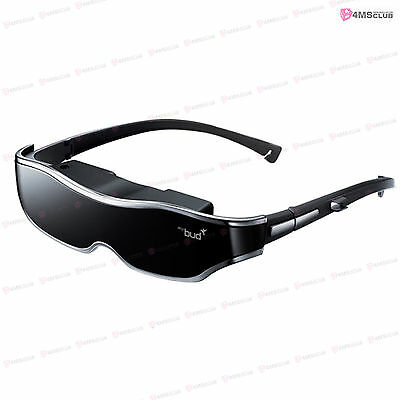 ACCUPIX Mybud 3D Viewer 100 inch Head Mount Display Virtual Screen Video Glasses