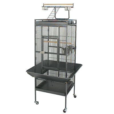 "61"" Large Bird Cage Pet Play Top Parrot Cockatiel Cockatoo Parakeet Finch"
