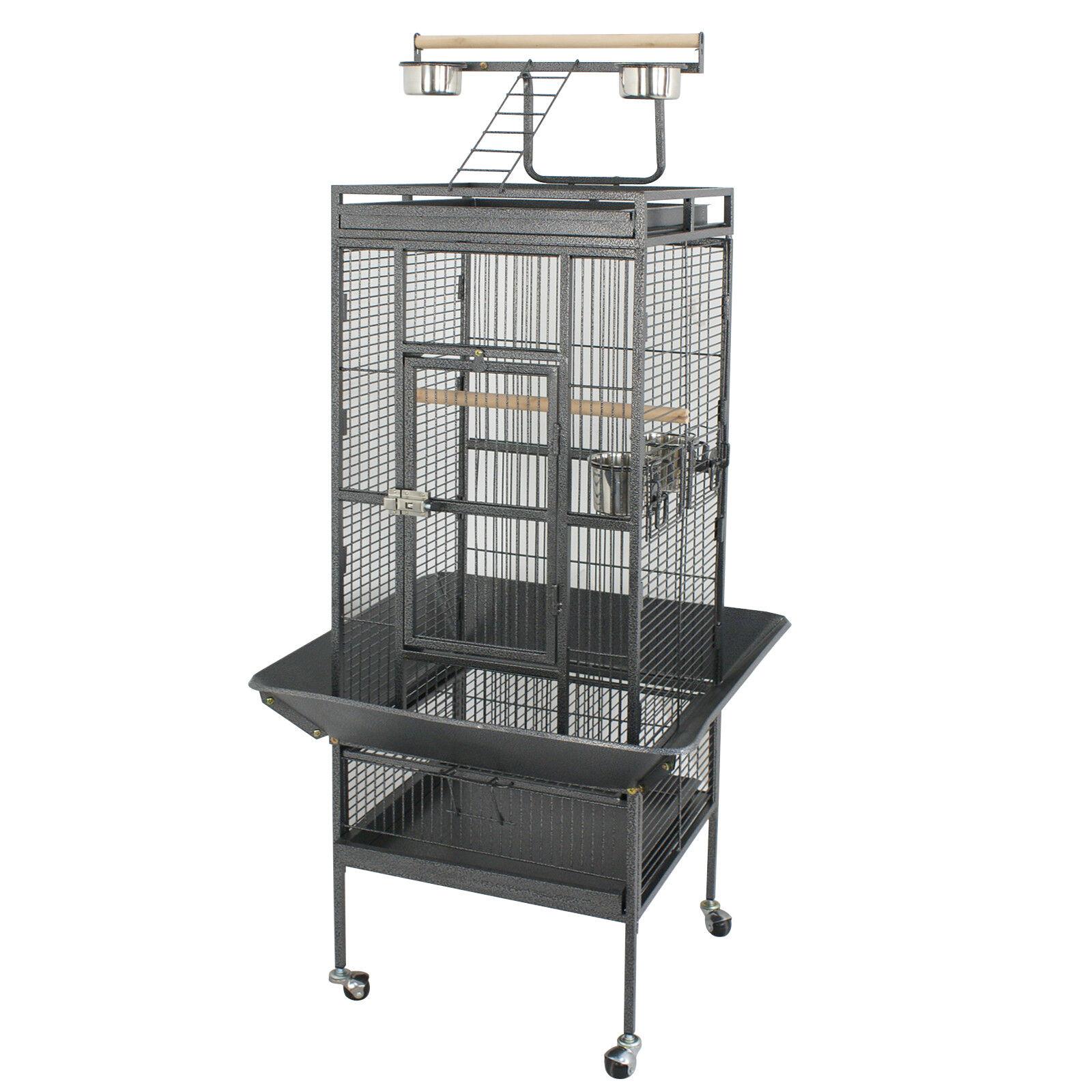 """61"""" Large Bird Cage Pet Play Top Parrot Parakeet Bird Finch"""