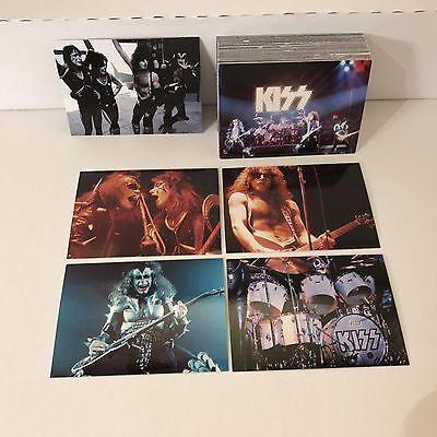 KISS ALIVE! (2001) Complete Trading Card Set VINTAGE TOURS & LIVE PHOTOS! w/ S1 Card Trading Card Set