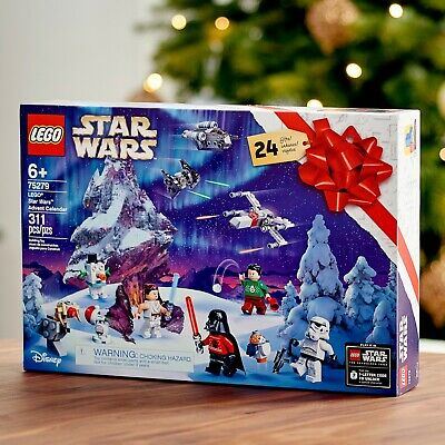 LEGO Star Wars Fun Christmas Countdown Calendar with Star Wars Buildable Toys