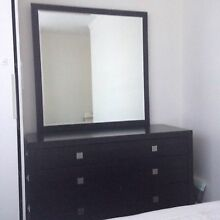 Bedroom Suite - queen bed frame, dresser, 2x bedside tables St Kilda Port Phillip Preview