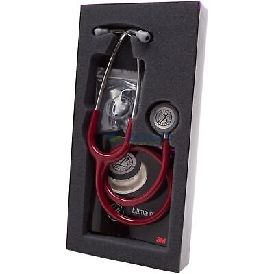 3m 5627 Littmann Classic Iii Stethoscope 27 Burgundy Tube