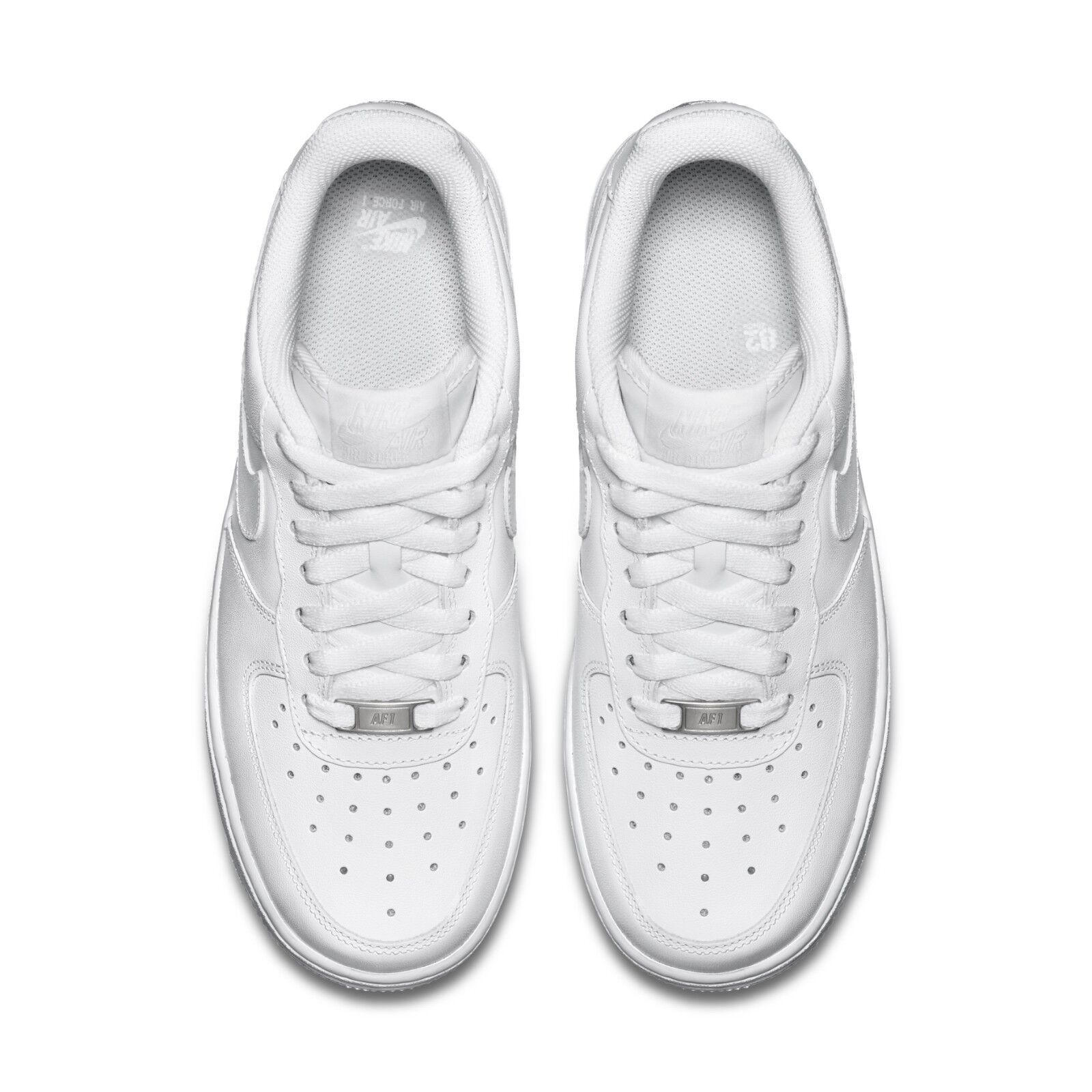 b741f12b3413b Nike Womens Wmns Air Force 1 07 Low Whiteout Classic Triple White AF1  315115-112