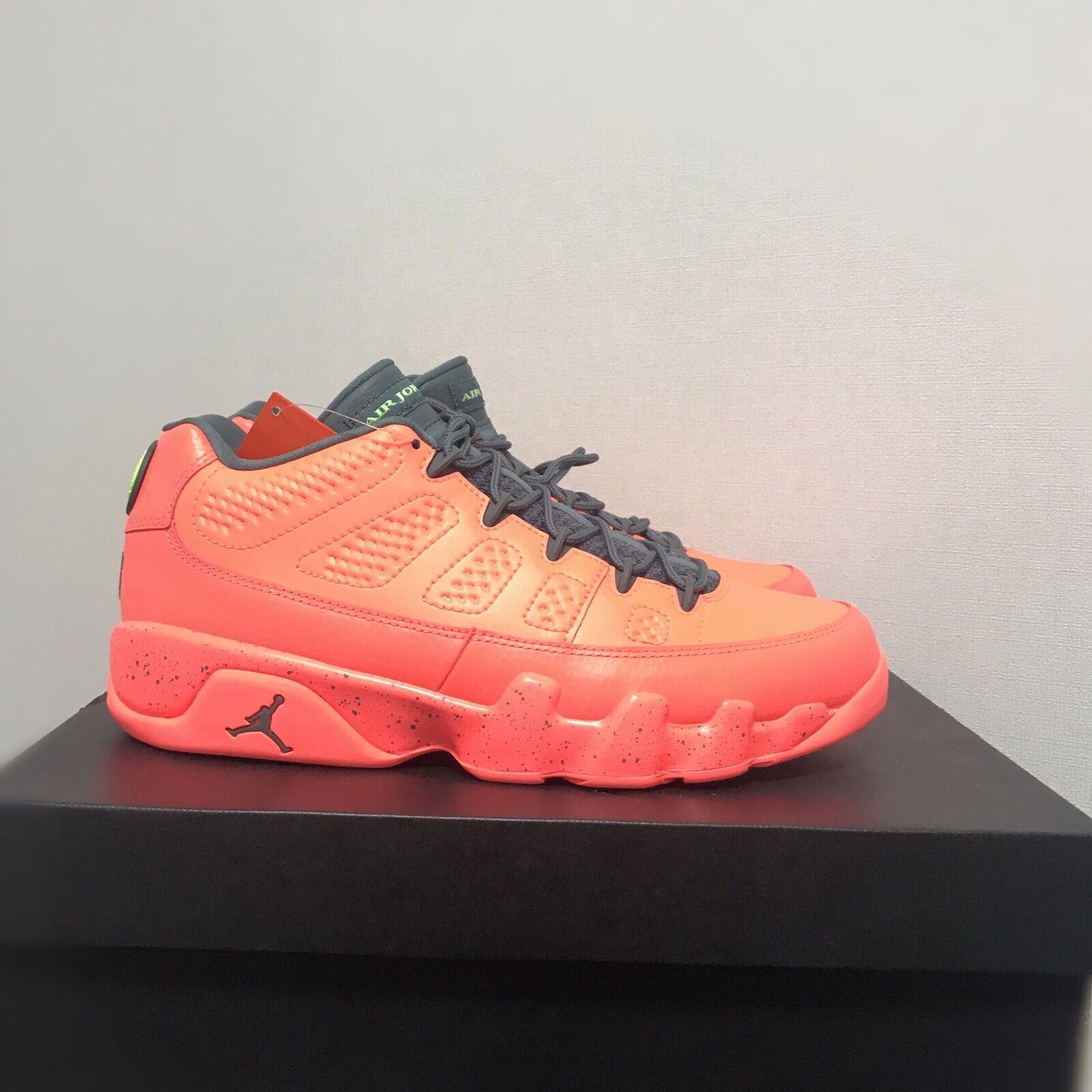 cd283edd6f3976 Air Jordan 9 Retro Low Shoes 832822-805 Bright Mango Size 8-10 Limited.    Limited quantity  . black