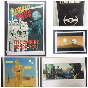 Star Wars Vintage Style Art Poster Prints Limited Editions Balcatta Stirling Area Preview