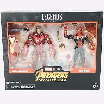 Marvel Legends 2-Pack Iron Man Mark 50 & Iron Spider Marvel Studios Sealed New