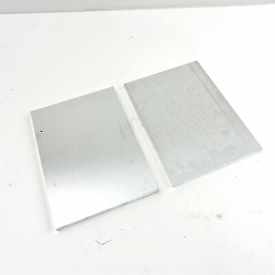 .5 Thick 12 Aluminum 6061 Plate 6 X 9.25 Long Qty 2 Sku 176337