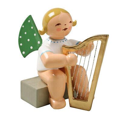 Wendt und Kühn Engel mit Harfe sitzend, blondes Haar, 650/14a online kaufen