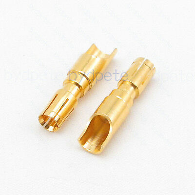 Db D-sub Female Pin Jack 30a 40a High Current Power Connector Gold-plated Solder