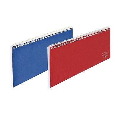 Herlitz Tisch-, Umlegekalender Schreibtischkalender Colour 30,5 x 11 cm
