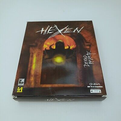 Hexen Beyond Heretic CD-ROM IBM and PC Compatible Game