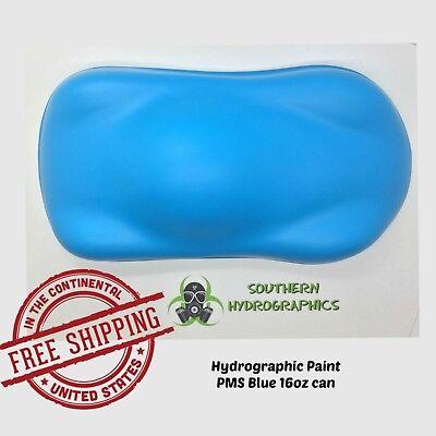 Hydrographic Film Hydro Dip Kit Paint Base Coat 16oz Aerosol Pms Blue