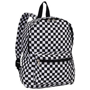 Checkered backpack ebay everest luggage multi pattern backpack checkered gumiabroncs Images