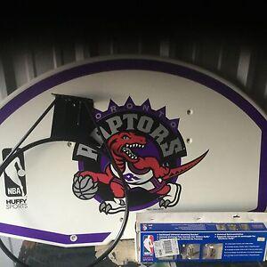 Toronto Raptors Basketball Backboard in original box