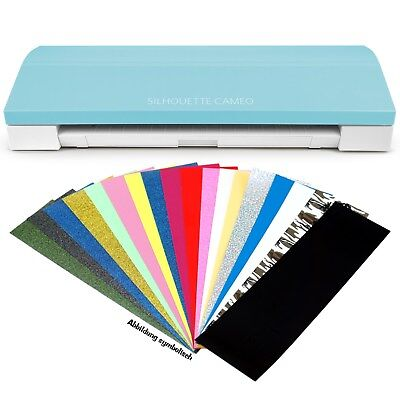 Silhouette Cameo-3 Limited Edition Mint + Bunte Mischung Flex  + Sofortversand