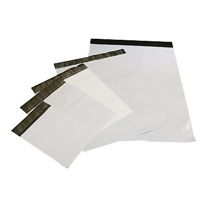 Pick Size Quality Quantity 1-5000 White Poly Mailers Shipping Bags Envelopes