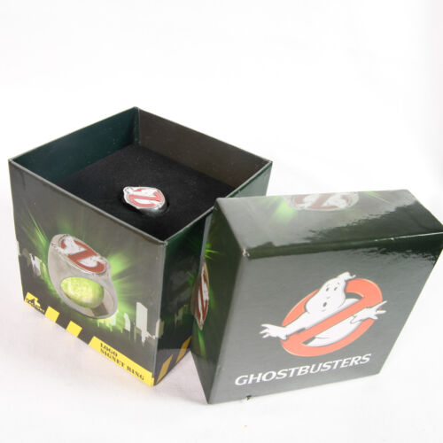 Ghostbusters Logo Signet Ring Small U.S. Size 8 Factory Entertainment.