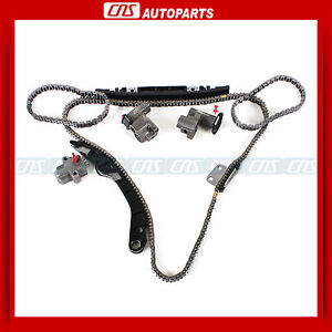 Timing Chain Kit W/O Sprockets for Infiniti Nissan 3.5L DOHC V6 VQ35DE Engine