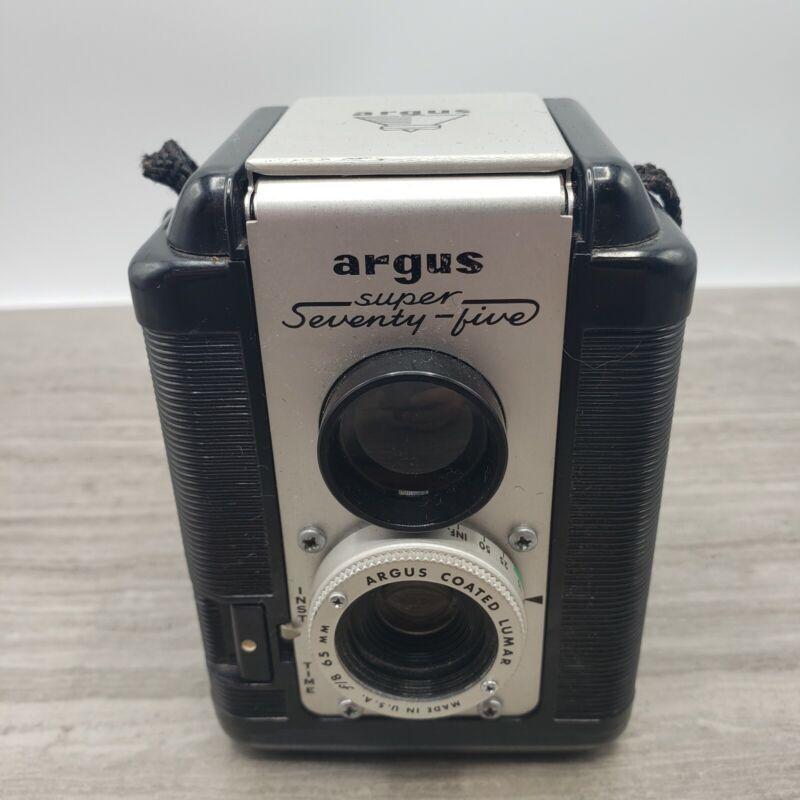 Vintage Argus Super 75 Camera Seventy Five Working Nice