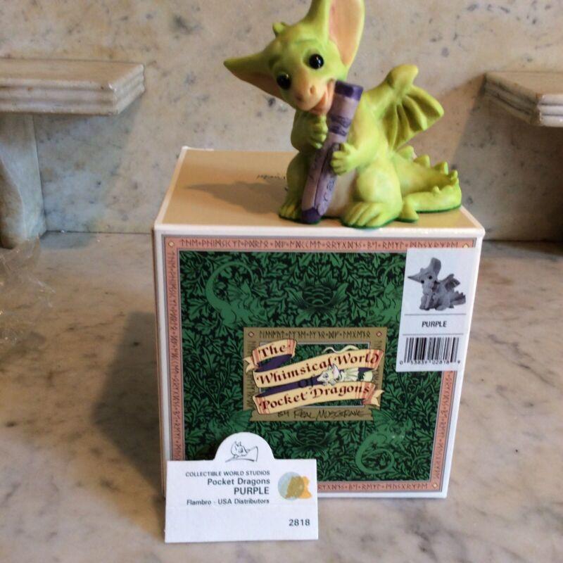 Pocket Dragons:  Purple: Mint Condition