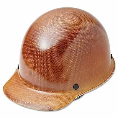 Msa Natural Tan Skullgard Hard Hat With Fas-trac Suspension Construction Safety