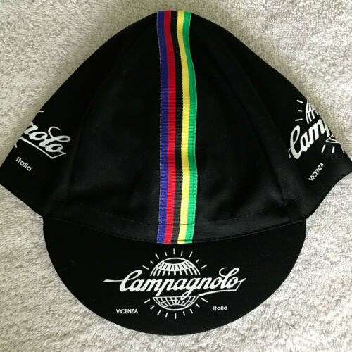 Campagnolo Cycling Cap - Bike Hat - White, Black, Yellow or All Three