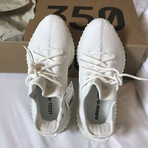 Authentic yeezy boost 350 v2 triple white