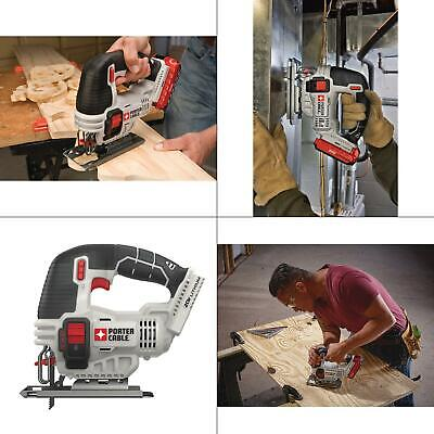 20-volt max cordless jigsaw  | porter cable 20v bare lithium