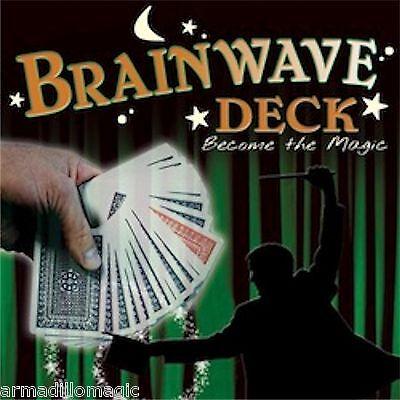 Brainwave Deck - Pro Brand Poker Size - Magic Trick - US Seller (Deck Poker Magic Trick)