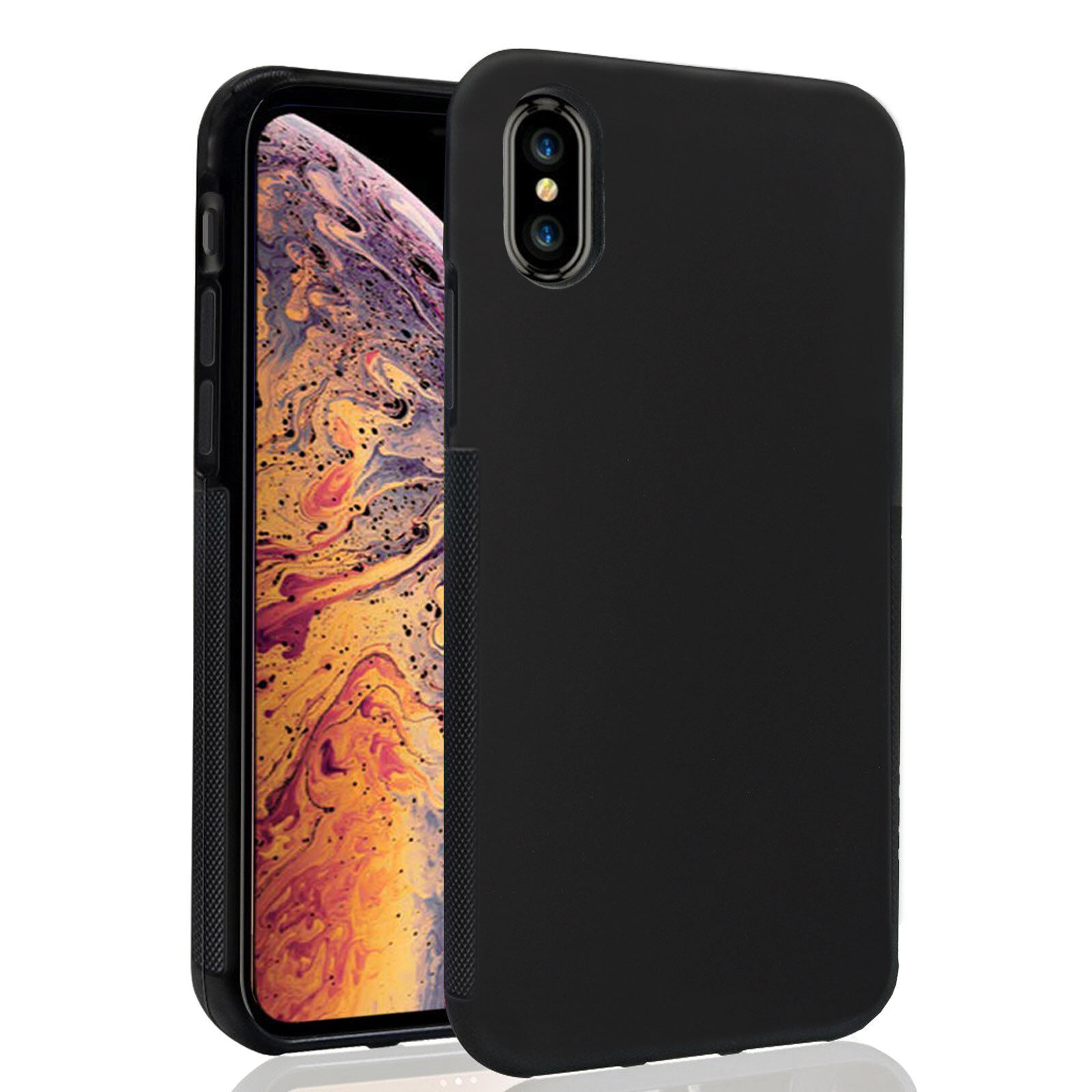 For Apple iPhone X XS Max XR 6 6s 7 8 Plus Shockproof TPU Ca
