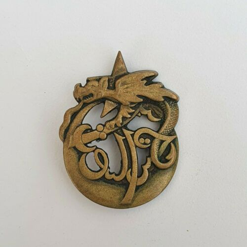 FRANCE: FRENCH ARMY BADGE 3° REGIMENT DE TIRAILLEURS ALGERIENS IN INDOCHINA