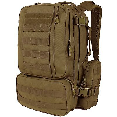 Condor 169 MOLLE Coyote Convoy Outdoor Hiking Pack Tactical Modular Backpack
