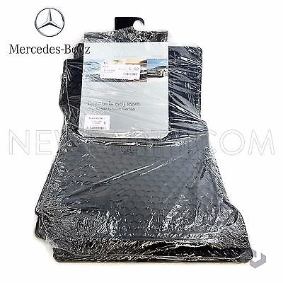 Genuine OEM Mercedes Benz C Class W204 Black All Season Floor Mats