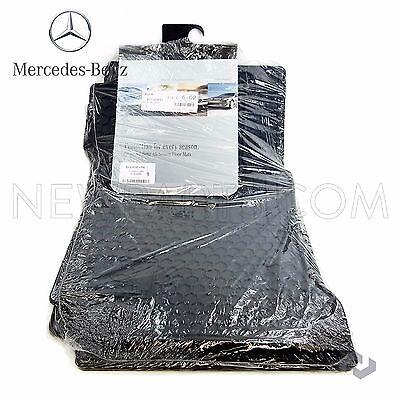 Genuine OEM Mercedes Benz C Class W204 Black All Season Floor Mats