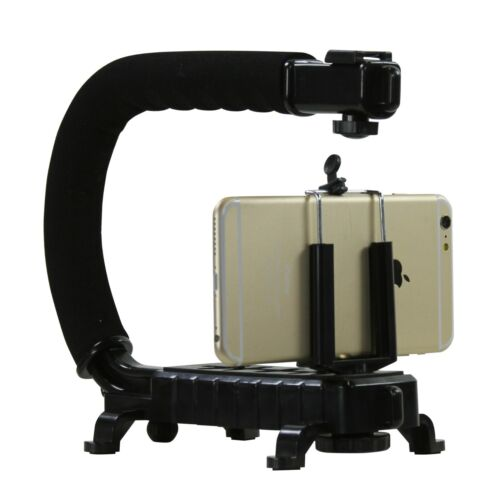 U Rig Pro Smartphone Video Rig, Video Recording Cell Phone Stabilizer Filmmaking