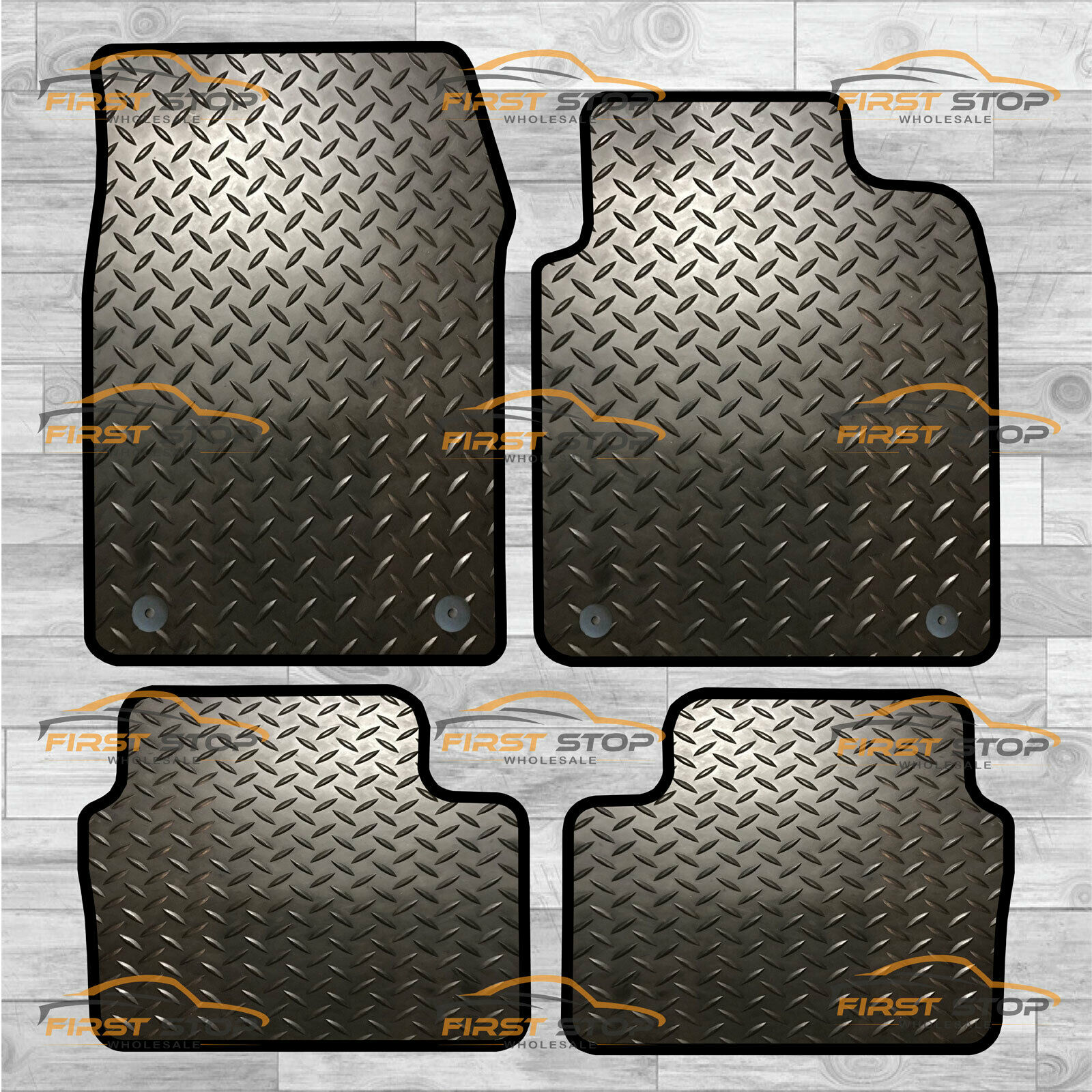 10-15 VAUXHALL ASTRA HEAVY DUTY RUBBER CAR FLOOR MAT