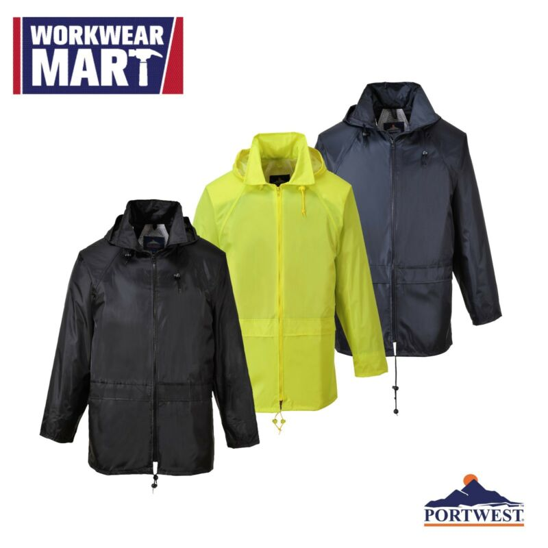 Rain Jacket Waterproof Weatherproof Outdoor Coat