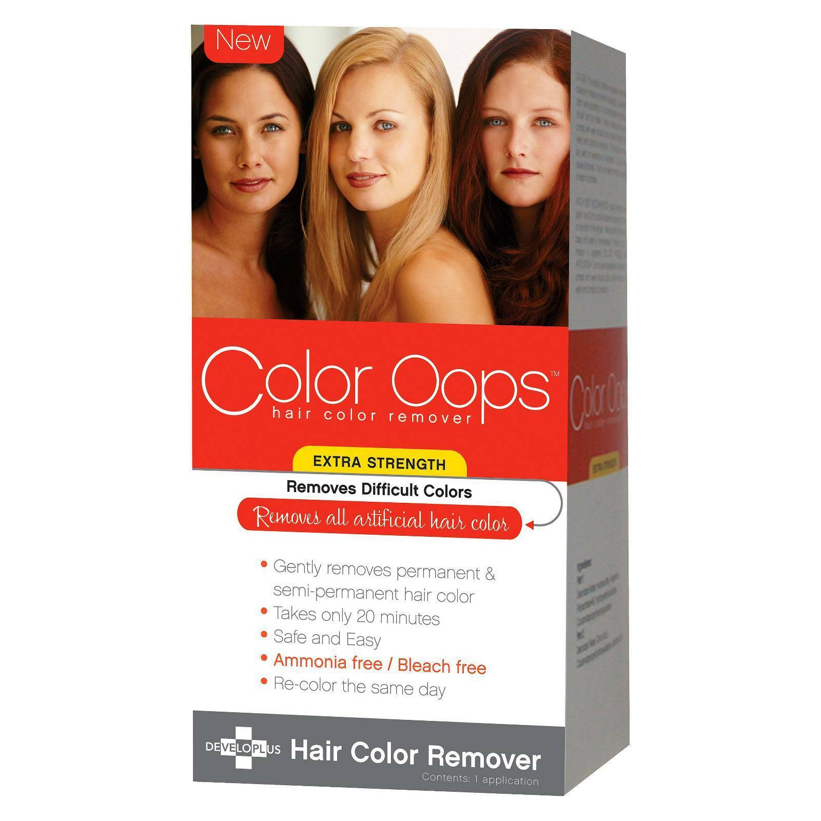 Color Oops Developlus Hair Color Remover Extra Strength Mm3148 Ebay