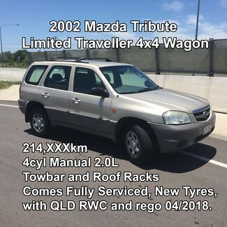 Mazda Tribute 2002 Limited Traveller 4x4 SUV Wagon
