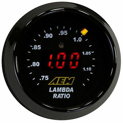 AEM Electronics Digital Wideband UEGO Gauge With Bosch LSU 4.9 - 30-4110