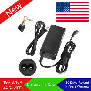 AC Adapter Battery Charger Samsung NP-RV515 NP-RV515I NP-RV520 NP-RV520I Laptop