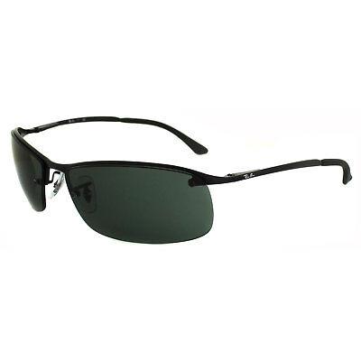 Rayban Sunglasses 3183 006 71 Matt Black Green