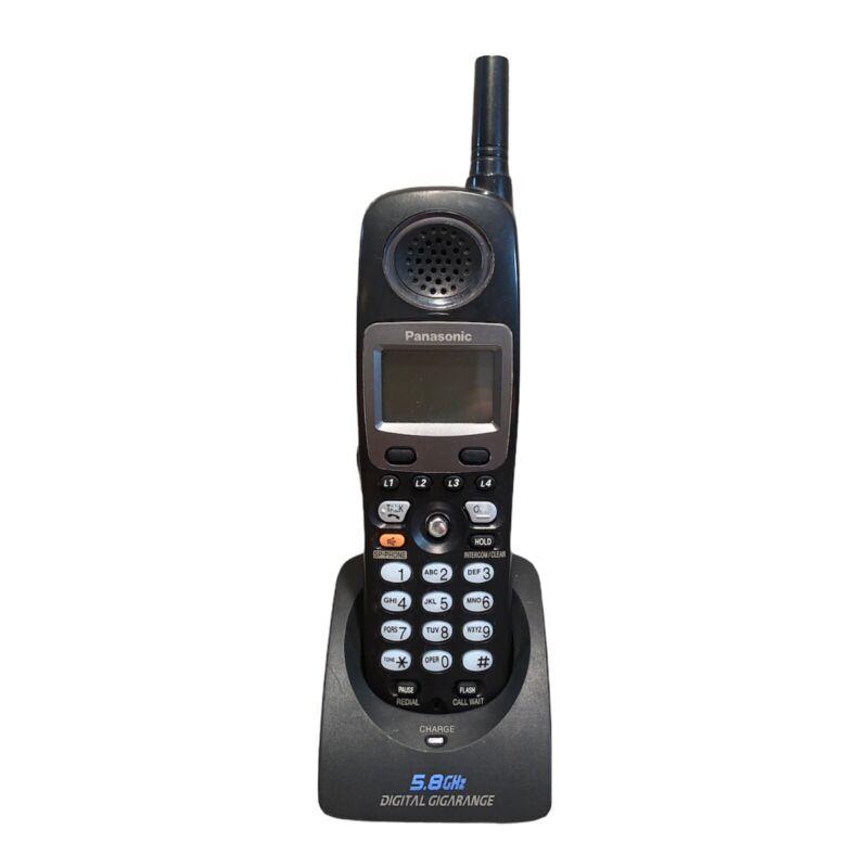 PANASONIC KX-TGA450B, KX-TGA450 FOR KX-TG4500B CORDLESS HANDSET, No Power Cord