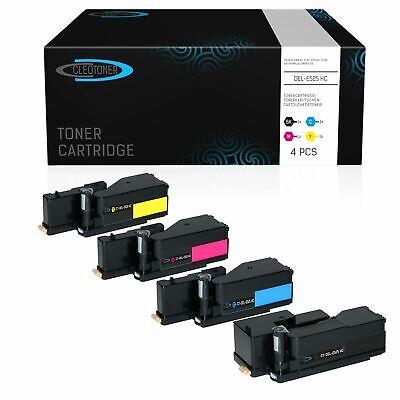 4 Toner kompatibel für DELL E525 | E 525 E525W E 525 W