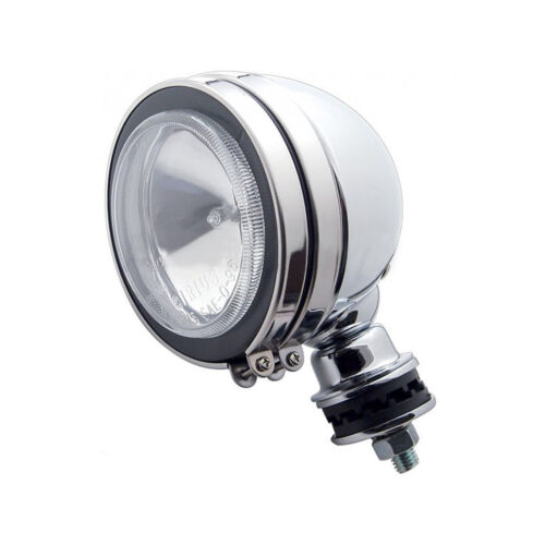 "5"" Off Road Utility Work Halogen Light Clear Lens Chrome Housing 12V 55W H3"